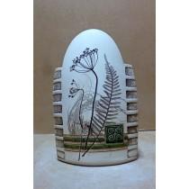 Керамика • Керамична ваза с декорация • модел 2