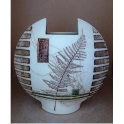 Керамика • Керамична ваза с декорация • модел 7