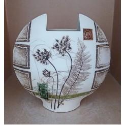 Керамика • Керамична ваза с декорация • модел 8