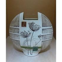 Керамика • Керамична ваза с декорация • модел 9