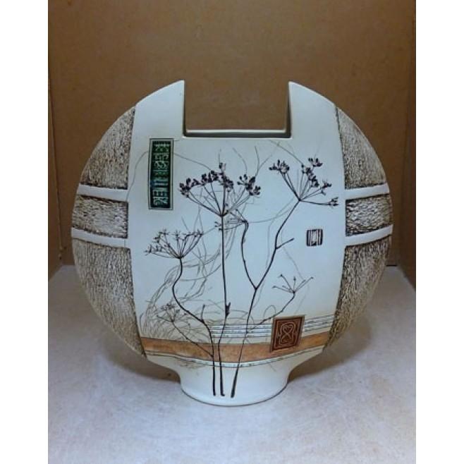 Керамика • Керамична ваза с декорация • модел 10