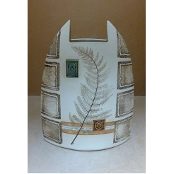 Керамика • Керамична ваза с декорация • модел 13