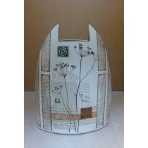 Керамика • Керамична ваза с декорация • модел 14