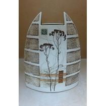 Керамика • Керамична ваза с декорация • модел 15