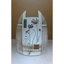 Керамика • Керамична ваза с декорация • модел 17