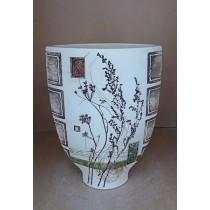 Керамика • Керамична ваза с декорация • модел 18