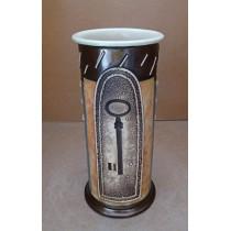 Керамика • Керамична ваза с декорация • модел 20