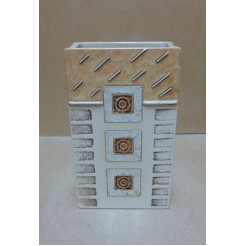 Керамика • Керамична ваза с декорация • модел 22