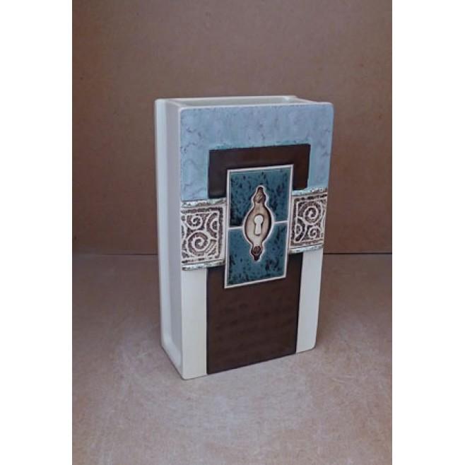 Керамика • Керамична ваза с декорация • модел 24