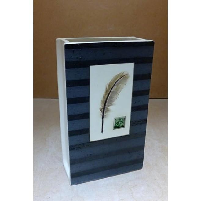 Керамика • Керамична ваза с декорация • модел 27