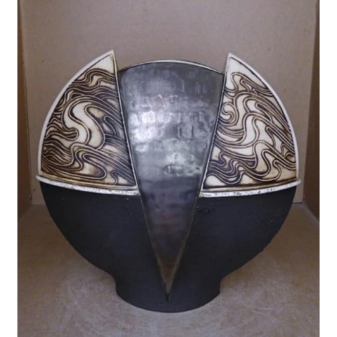 Керамика • Керамична ваза с декорация • модел 28