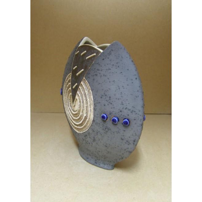 Керамика • Керамична ваза с декорация • модел 29