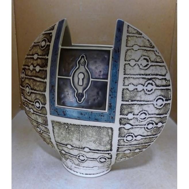 Керамика • Керамична ваза с декорация • модел 34