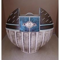 Керамика • Керамична ваза с декорация • модел 35