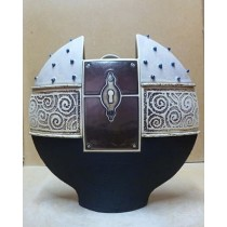 Керамика • Керамична ваза с декорация • модел 36