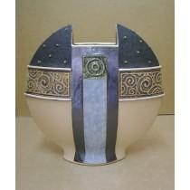 Керамика • Керамична ваза с декорация • модел 37