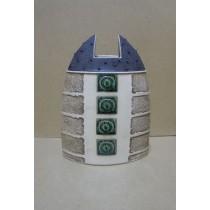 Керамика • Керамична ваза с декорация • модел 38