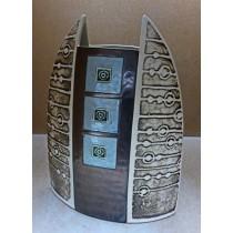 Керамика • Керамична ваза с декорация • модел 39