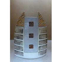 Керамика • Керамична ваза с декорация • модел 42