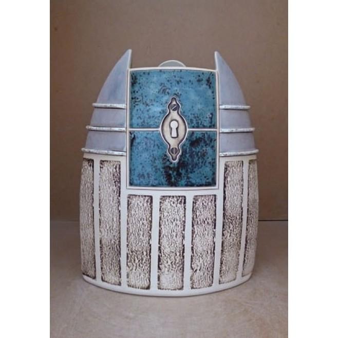 Керамика • Керамична ваза с декорация • модел 43
