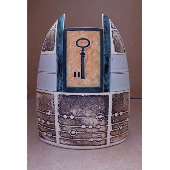 Керамика • Керамична ваза с декорация • модел 45