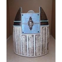 Керамика • Керамична ваза с декорация • модел 46