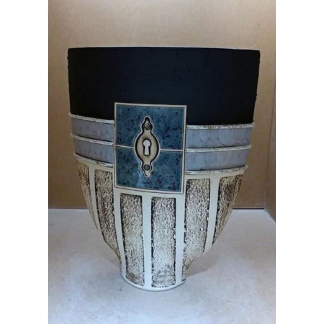 Керамика • Керамична ваза с декорация • модел 49