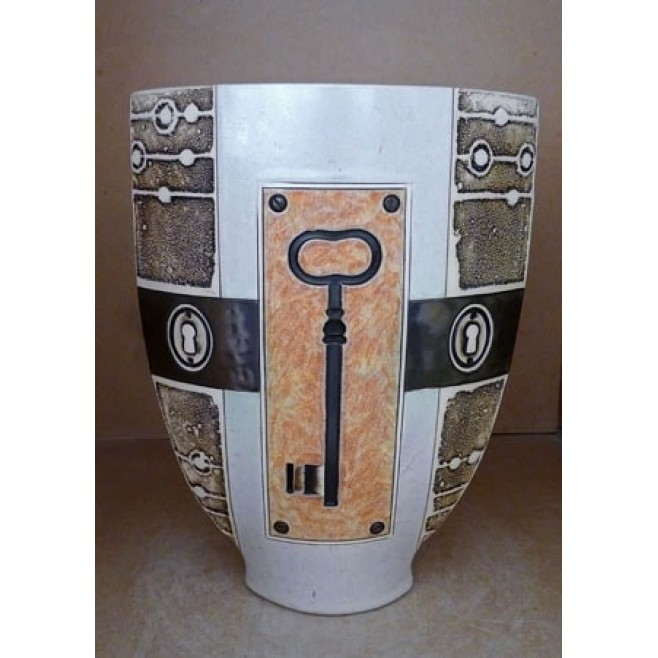 Керамика • Керамична ваза с декорация • модел 50