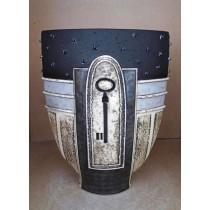 Керамика • Керамична ваза с декорация • модел 51